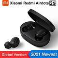 Original Xiaomi Redmi AirDots 2S Mi Wahre Drahtlose Ohrhörer Grundlegende 2S Drahtlose Bluetooth 5,0 TWS Kopfhörer Headset Stereo auto Link