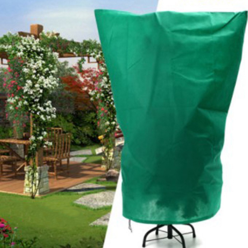 Non-Woven Plant Cover Warm Cover Tree Protecting Bag Frost Protection Yard Garden Decor Winter Protection Against Cold