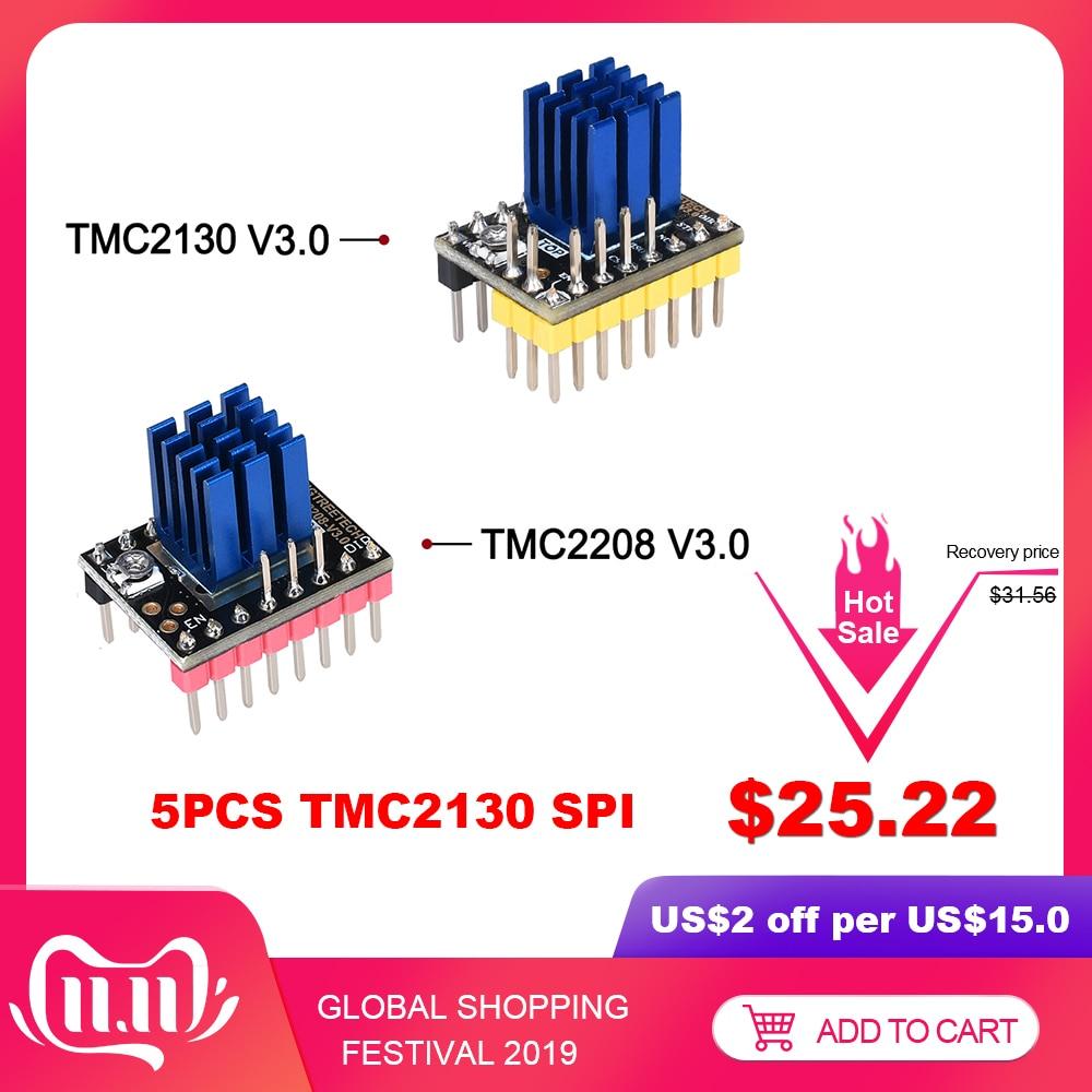 BIGTREETECH TMC2130 V3.0 Schrittmotor Fahrer SPI TMC2208 UART fahrer 3D Drucker Teile für SKR V1.3 PRO MKS GEN L a4988 TMC2209