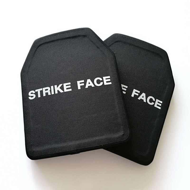 IV Ceramic Face Ballistic Bulletproof Plates Vest Plate Protection NIJ III