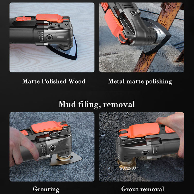 Trimming Slotting Woodworking Cutting Electric Multifunctional Shovel Tools Decoration Hole Ground Machine Cleaning Machine