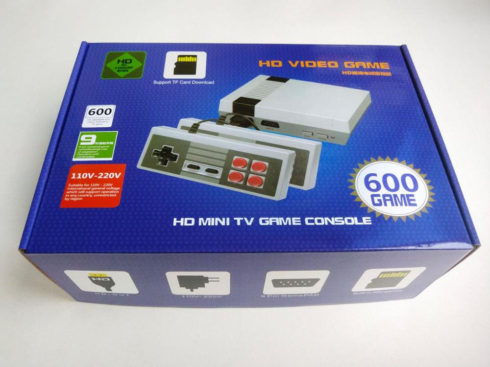 cheapest 2020 Mini HD HD MI TV Video Game Console Handheld Retro Family Game Console Built-In 821 Classic for SNES Games Dual gamepad