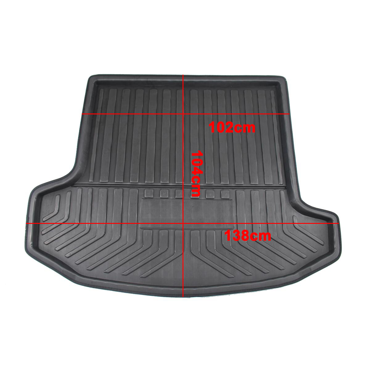 For SKODA Kodiaq 5/7 Seat Seater 2017 2018 2019 Matt Mat Floor Carpet Kick Pad Car Cargo Liner Boot Tray Rear Trunk Cover