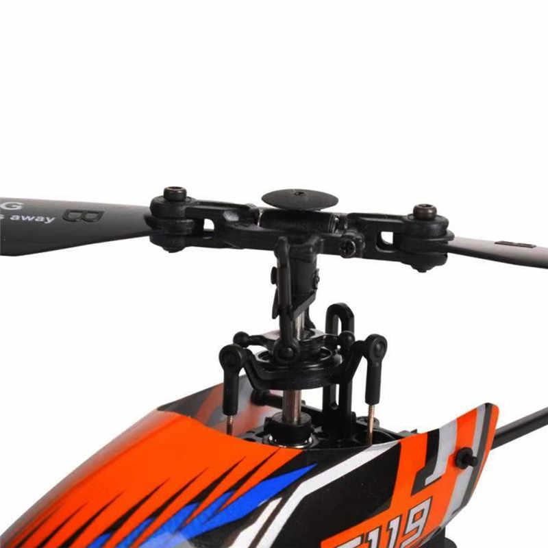 Eachine E119 2,4G 4CH 6-Axis Flybarless 4CH transmisor con pantalla LED RC helicóptero RTF 1 Uds 3 uds 4 Uds versión de baterías