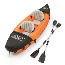 Двойное каноэ рафтинговая лодка надувная для рыбалки резиновая
