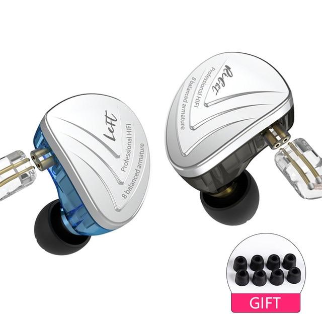 AK KZ AS16 8BA נהג יחידות באוזן אוזניות מאוזן אבזור סביב אוזן אוזניות אוזניות Earbud אוזניות KZ ZS10 ZSN c16 C12