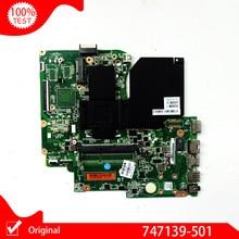 Оригинальная материнская плата для HP 15-D 250 G2 747139-501 747139-001 747139-601 с процессором SR1LX N2810 HM76 DDR3