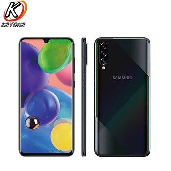 Купить Новый Samsung Galaxy A70s A7070 4G мобильный телефон 6,7 дюйма 8 ГБ ОЗУ 128 Гб ПЗУ Восьмиядерный процессор Snapdragon 675 Тройная камера Android 9 NFC телефон
