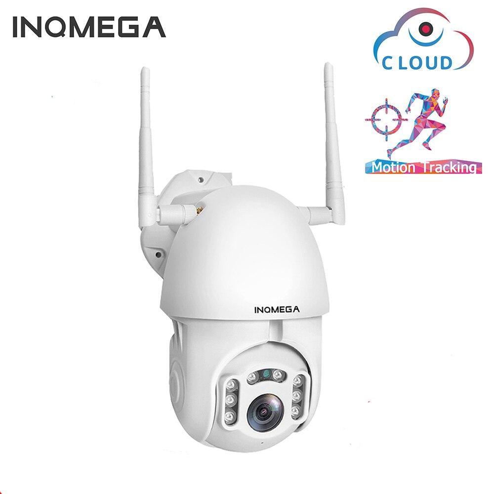 INQMEGA kamera IP WiFi 1080P bezprzewodowy automatyczne śledzenie kamera kopułkowa z obrotową kamerą PTZ na zewnątrz kamery CCTV nadzoru bezpieczeństwa kamera wodoodporna kamera w Kamery nadzoru od Bezpieczeństwo i ochrona na AliExpress - 11.11_Double 11Singles' Day 1