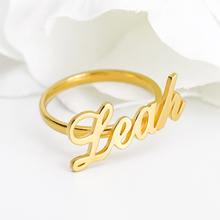 Name Ring Custom Name Rings Personalized Baby Names on Ring New Mom Gift Mother Daughter Family Ring Engraved Jewelry Gifts personalized birthstone engraved name ring gold color family stackable ring for mother