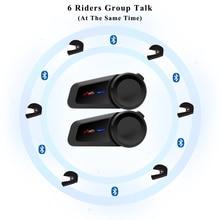 新 6 ライダー bluetooth moto rcycle ヘルメットインターホン fm ラジオヘルメット防水 moto インターホン互換性 vi moto 星奈ヘッドセット