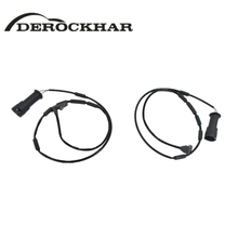 DEROCKHAR 2 PCS Front Axle Left And Right Brake Pad Wear Sensor For OPEL Astra Vectra VAUXHALL Cavalier Carlton 1238984 90425491