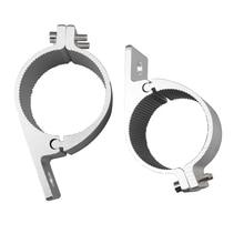2 2.5  Bull Bar Mounting Bracket Clamps Kit for Offroad Work Light Led Bar Driving Car Lights Clip Holder