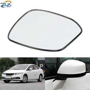 ZUK снаружи зеркало заднего вида зеркальная стеклянная дверь с зеркальными линзами для HONDA CIVIC 2012 2013 2014 2015 FB2 для 3-контактный зеркало без свето...