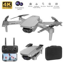 Zangão profissional fotografia aérea fpv 4k 1080p câmera dupla gps altura hold quadcopter presente brinquedo de controle remoto avião