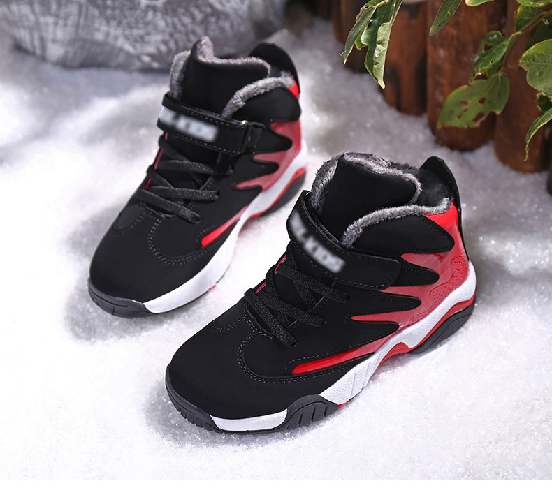 PINSEN 2019 Winter Boys Shoes Kids Sneakers Boy Sport Shoes Child Casual Warm Basketball Children Shoes Girls chaussure enfant (21)