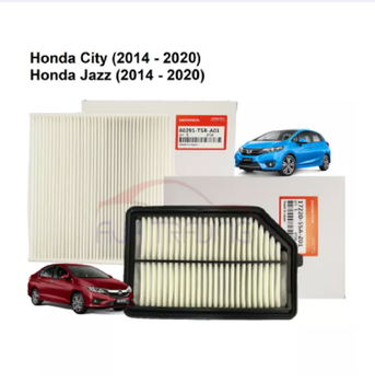 Honda CITY/BRV/JAZZ/FIT T9A 14' Air Filter 17220-55A-Z01TH + AIRCOND CABIN FILTER 08R79-TF0-700A image