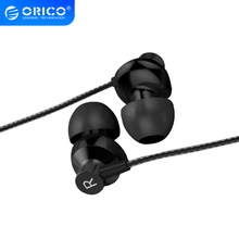ORICO ב אוזן אוזניות מתכת בס אוזניות צליל באיכות גבוהה מוסיקה 3,5mm ספורט אוזניות עבור iPhone Xr Xiaomi עם מיקרופון fone devido