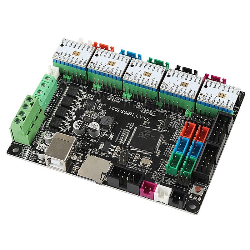 3D Gedruckt ARM32 Bit Motherboard MKS SGen-L + 5 x TMC2100 Fahrer Kompatibel mit Uart/SPI