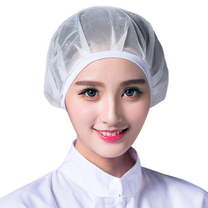 Elastic Chef Hat Men Women Kitchen Restaurants Bakery Hat Dustproof Hotel Cooking Cap Waiter Work Wear Workshop Caps