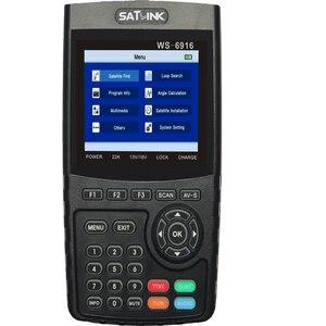 Image 5 - Originele Satlink Ws 6916 Satelliet Finder DVB S2 MPEG 2/MPEG 4 Satlink WS 6916 High Definition Satelliet Meter Tft Lcd scherm