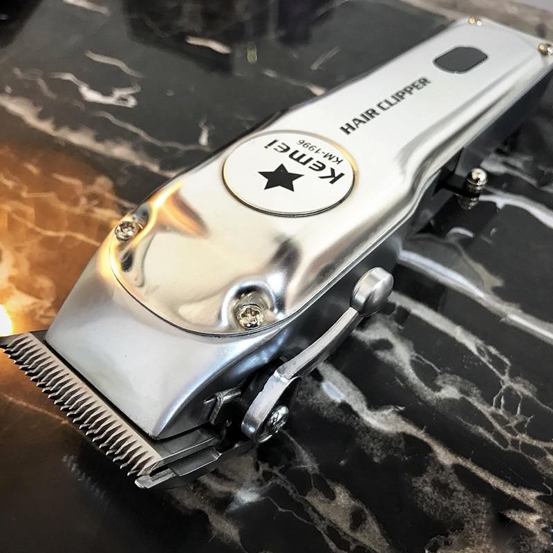 Kemei Hair Clipper Model KM-1996 Professional Barber Men Hair Fade Trimming Cut