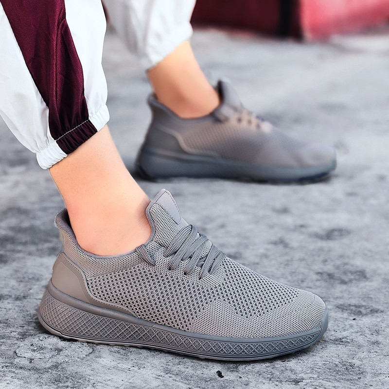 Man Sneakers Breathable Mesh Running Shoes For Man 2019 Outdoor Summer Fitness Sport Walking Shoes