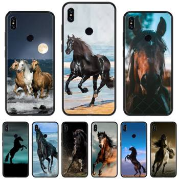 horse animal Pentium Bling Cute Phone Case For xiaomi Redmi 5 5A plus 7A 8 note 2 3 4 5 5A 6 7 GO K20 A2 coque shell funda hull image