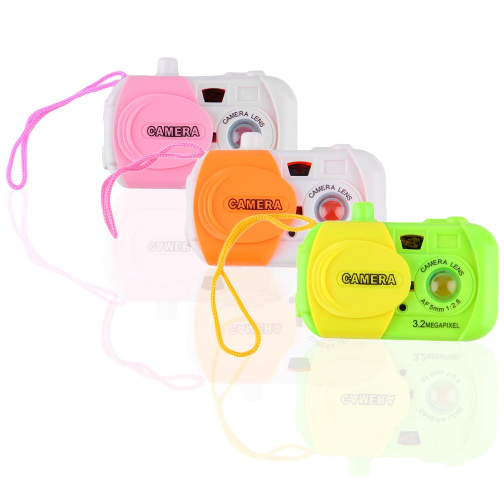 Kids Children Baby Study Camera Take Photo Animal Learning Educational Toys Random Color New Hot!