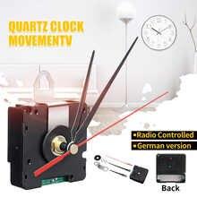 Reloj de cuarzo con movimiento controlado por Radio para Europa, reloj de 56x56x19mm, versión alemana, DCF Just for European Region HR9624