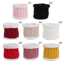 2020 Новый Зимний вязаный для новорожденных шарф милый теплый