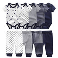 baby clothes newborn boy girl bodysuits and pants outfits toddler baby clothing cotton infant romper sets roupas de bebe