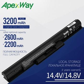Аккумулятор для ноутбука Apexway, для SONY Vaio BPS35 BPS35A, для SONY Vaio BPS35, BPS35A, VGP-BPS35A, 14E, 15E, SVF1521A2E, SVF15217SC, SVF14215SC, SVF15218SC