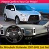 for Mitsubishi Outlander 2007 2008 2009 2010 2011 2012 2nd Gen Anti-Slip Mat Dashboard Cover Carpet Sunshade Dashmat Accessories review