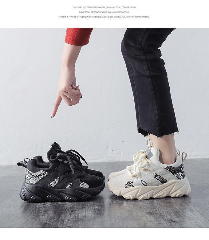 casuais das mulheres malha pai sapatos tênis