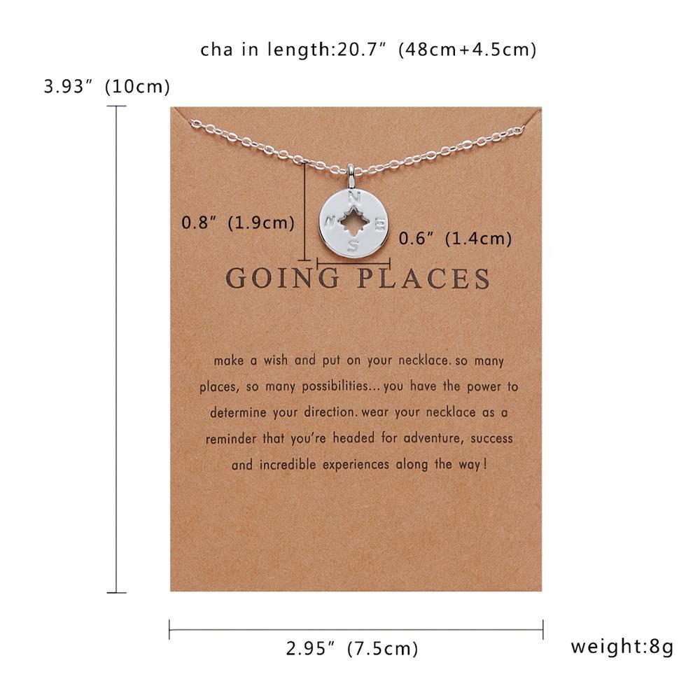 Rinhoo Karma, Двойная Цепочка, круглое ожерелье, золотое ожерелье с подвеской, модные цепочки на ключицы, массивное ожерелье, Женские Ювелирные изделия - Окраска металла: 16