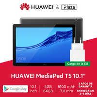 "Versión global HUAWEI MediaPad T5 4GB 64GB Tablet PC 10.1""1080p Full HD Altavoz dual 5100 mAh EMUI 8.0 Delgado ligero y duradero"
