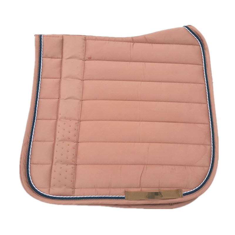 Pony Saddle Pad Rose Red Jumping Saddle Pads High Quality Shock Absorption Dressage Pad With Sequins  Saddle Cushion