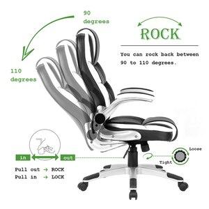 Image 4 - Seatingplus High Back Офисное кресло Офисный стул Игровое кресло WCG Эргономичные кожаные кресла поворотные