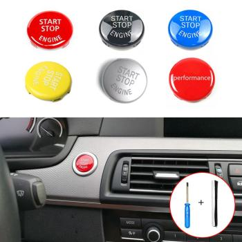 Engine START STOP Switch Button Replace Cover for BMW E Chassis X1 X3 X5 X6 Series E90 E91 E92 E93 E60 E84 E83 X5 E70 X6 E71 E72 image