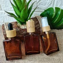 Beauty 200pcs 30ml Square Glass Dropper Bottle Empty Spray Cosmetic Container Vials Pump Lid Essential Oil Bottle Perfume Bottle(China)