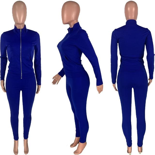 Conjunto de ropa deportiva unicolor para mujer, Sudadera con capucha, pantalones de malla, chándal, conjunto de Fitness activo, conjunto de dos piezas a juego 6