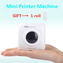 Mini Portable Thermal Printer Photo Pocket Photo Printer Printing Wireless Bluetooth Android IOS Printers milestone portable thermal printer bluetooth receipt bill 58mm 2 inch mini pos wireless windows android ios mobile pocket p10