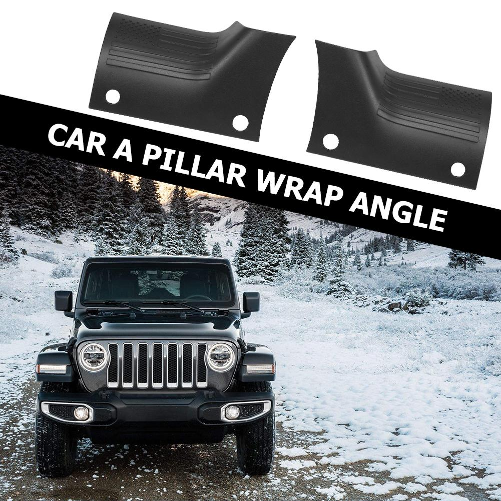 Hot Sale Side Cowl Covers Classic Delicate Texture 1 Pair Side Cowl Covers ABS Body Armor Guard for Jeep Wrangler JL 2018-2019
