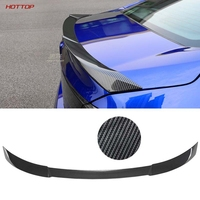 FOR 18 19 Honda Accord 2018 2019 10th ABS Spoilers Carbon Fiber Tail Wing Wing Racing Sedan Common universally Wings Car styling