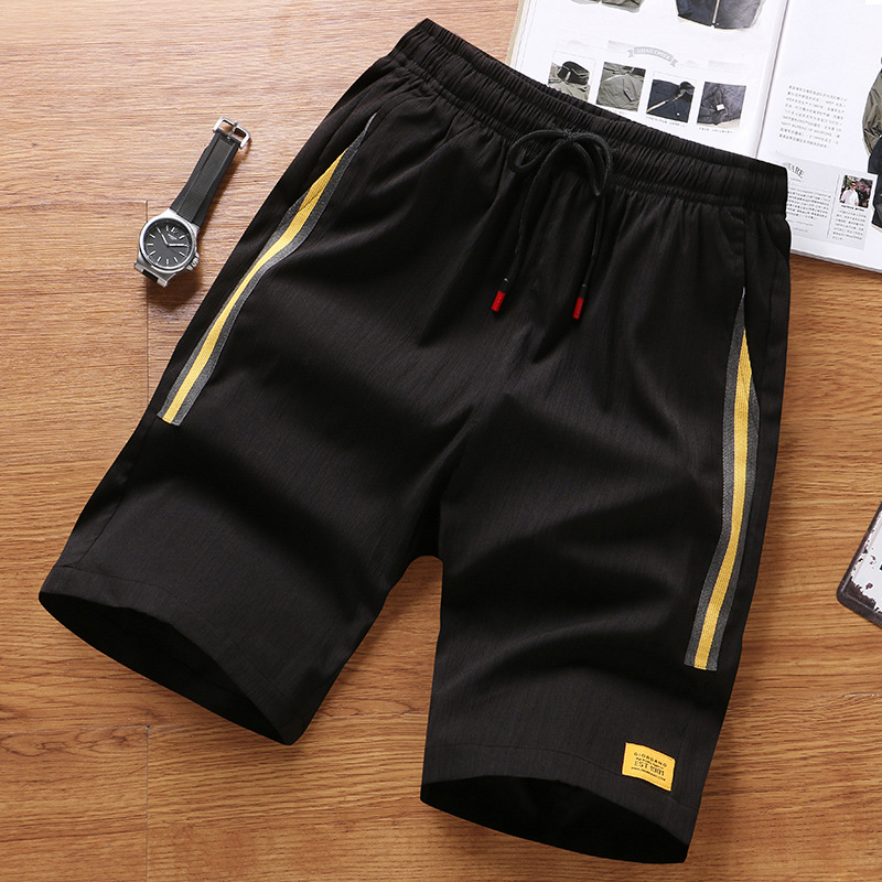 Summer New Style MEN'S Casual Shorts Young MEN'S Students Plus-sized Athletic Pants Short Shorts Casual Beach Shorts