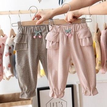Girl's Pants with Polka Dot 4