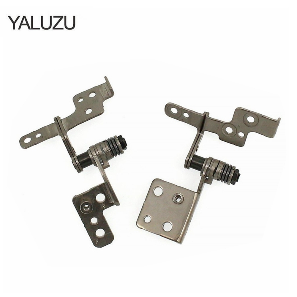 YALUZU NEW LCD Screen Hinge Set Left Right For Samsung 470R5E NP470R5E 510R5E NP510R5E