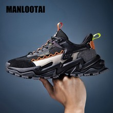 2021 Spring Fashion Trend Men Shoes Breathable Thick bottom Men Sneakers Outdoor High Elasticity Casual Man Fitness shoes