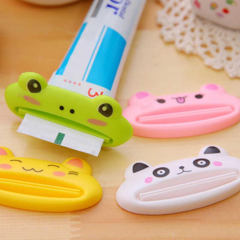 1pc Zahnpasta Gerät Zahn Paste Dispenser Nette Tier Zahnpasta Squeezer Rohr Kunststoff Dispenser Bad Zubehör für Kinder